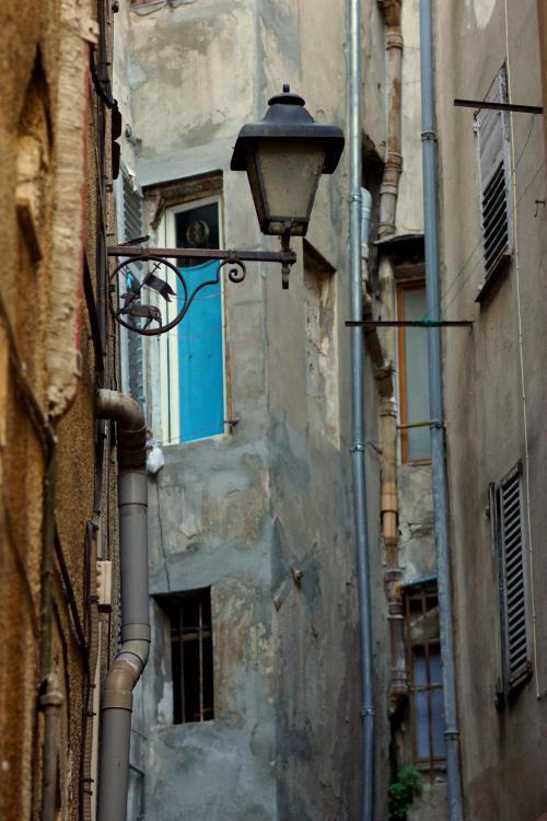 Back alley, Grasse, France