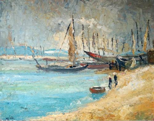 Boat Scene 2 -- Nguyễn Hiển