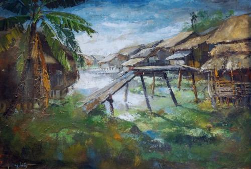 VIllage Scene 3 --  Nguyễn Hiển