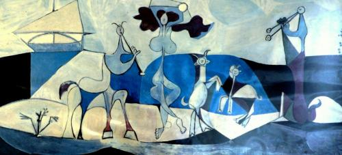 Matisse, Picasso and Villa Ndio -- on Kathy's website
