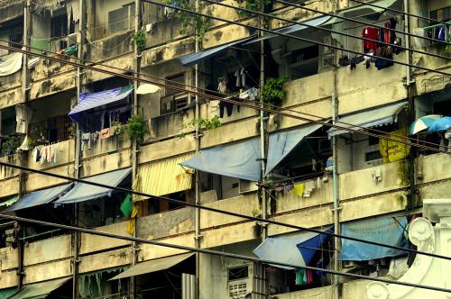 Bangkok apartment building