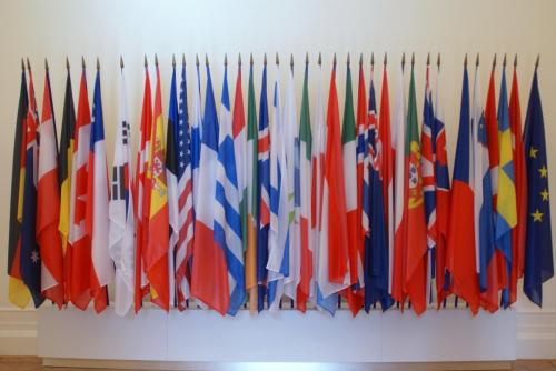 Flags of the OECD Member States