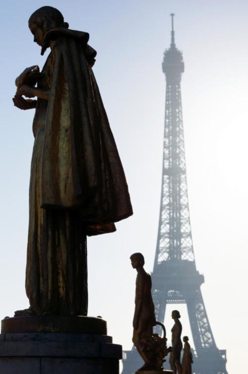 La Tour Eiffel from the Trocadéro