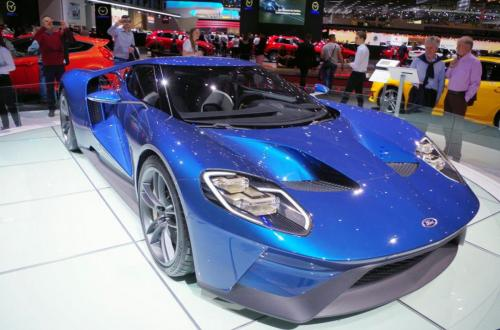 Ford GT Super Car front