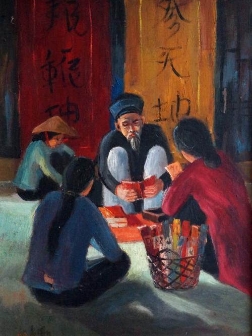 Temple Scene -- Nguyễn Hiển