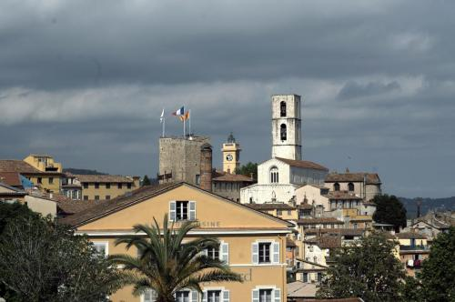 A View of Grasse from Place du Cours Honore-Cresp