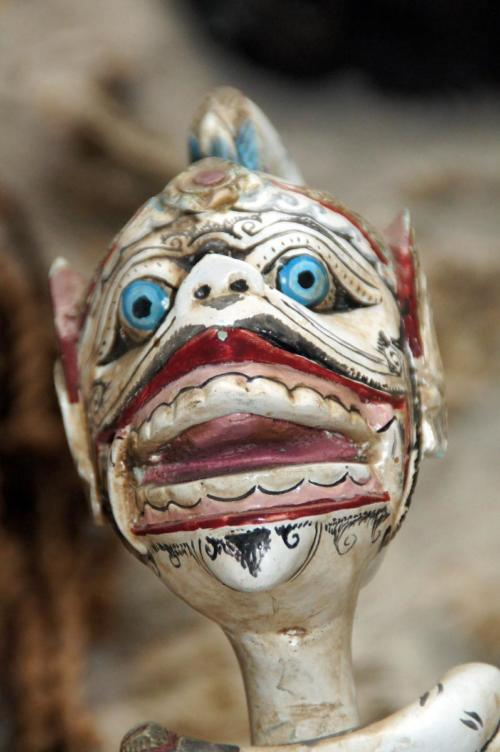 Indonesia Puppet Head